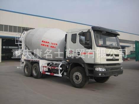 广科YGK5250GJBLZ混凝土搅拌运输车L340东风康明斯发动机