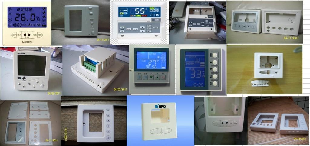 温控器,线控器 工业控制器外壳