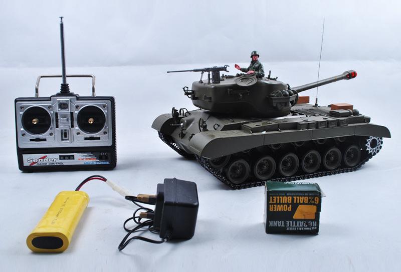 供应SM030135 1:16雪豹无线遥控重型战斗坦克 电动遥控坦克