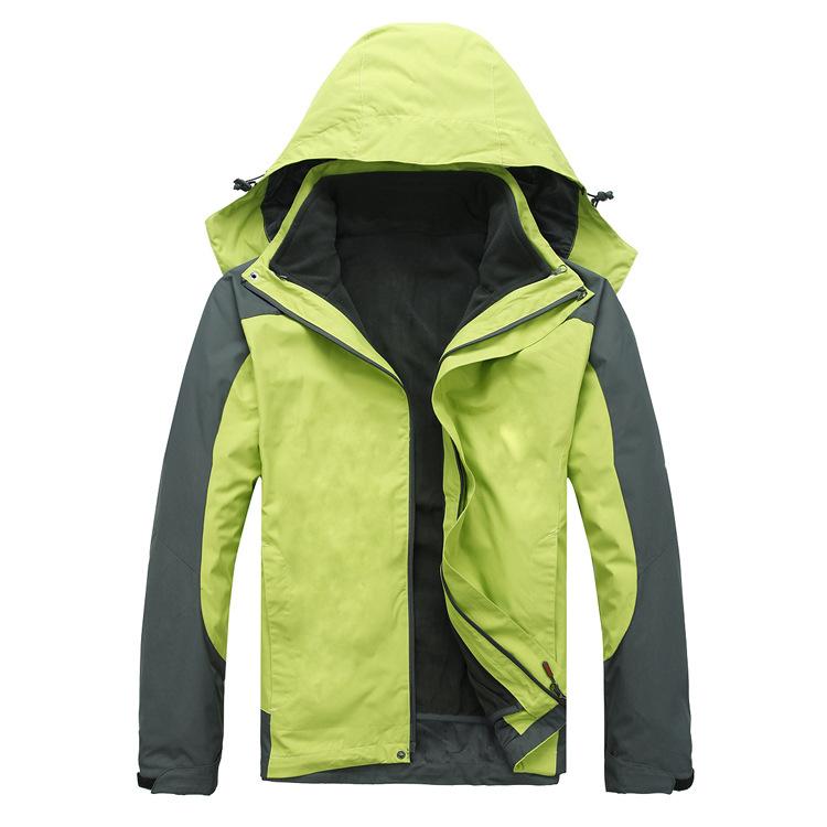 SH02—空白户外冲锋服 春季棉服工作服定做 北京棉服厂家定制工装