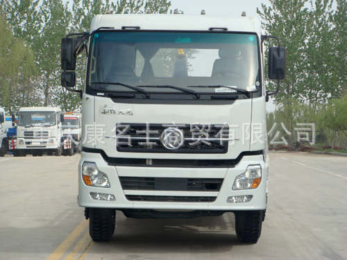 海德YHD5257ZXX车厢可卸式垃圾车ISDe245东风康明斯发动机