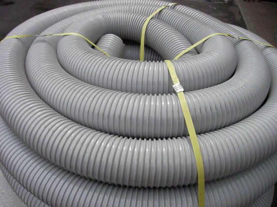 优质 通风管 灰色 伸缩排风管 PVC风管 塑料风管