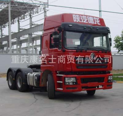 陕汽SX4257NR324Z牵引汽车ISME385 30西安康明斯发动机