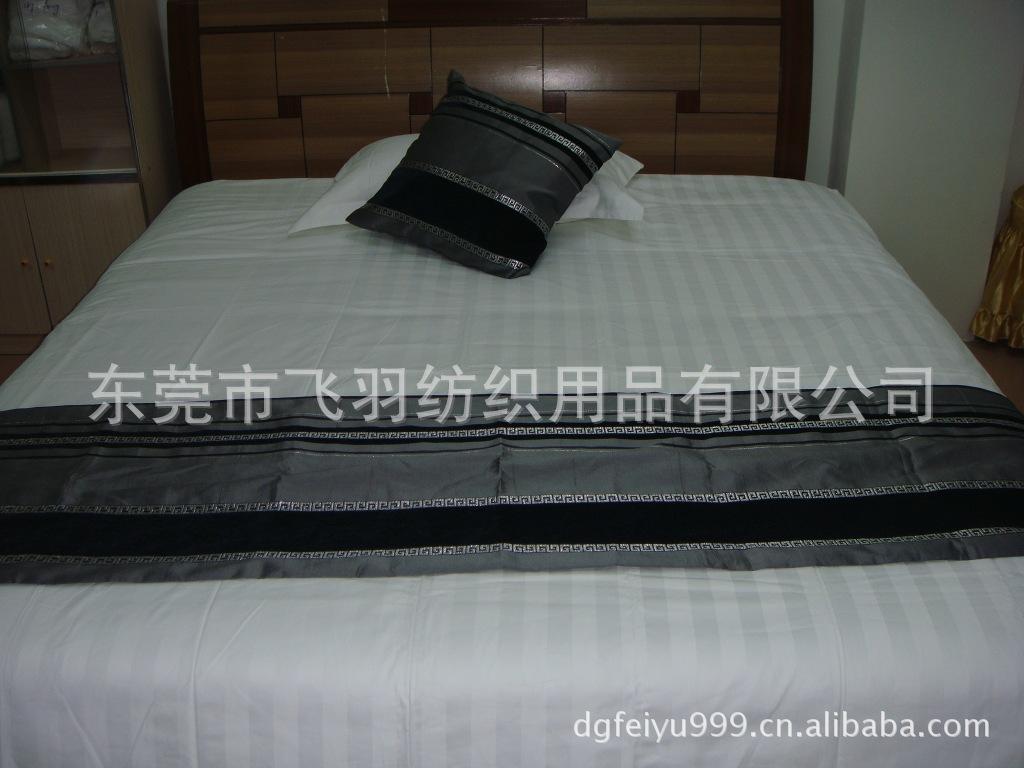 东莞酒店布草厂批发纯棉提花被套,惠州酒店布草厂床上用品