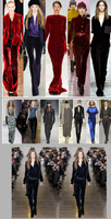 Женские брюки 2013 Winter Fashion Vintage Slim Velvet Jumpsuit Trousers Female Autumn Big Gold Velvet Jumpsuit