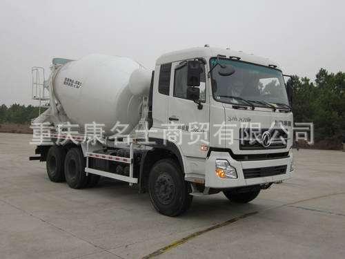 华建HDJ5252GJBDF混凝土搅拌运输车ISLe340东风康明斯发动机