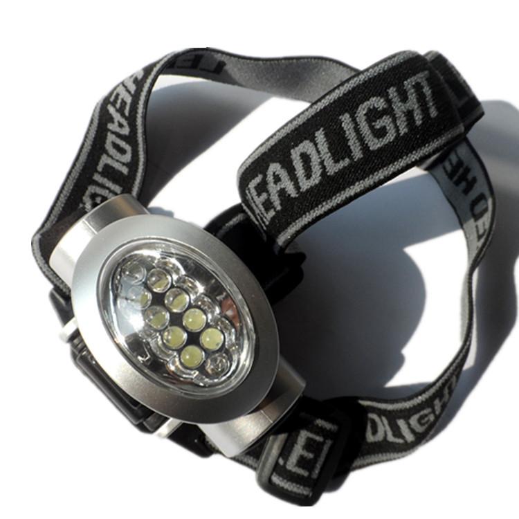 厂家批发直销10LED夜间工作灯、头灯、钓鱼岛、探照灯