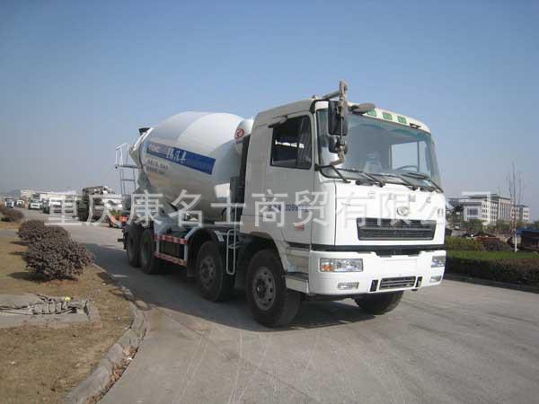 星马AH5311GJB4混凝土搅拌运输车ISLe340东风康明斯发动机