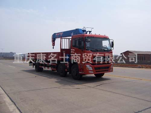飞涛HZC5253JSQS随车起重运输车ISC8.3-292东风康明斯发动机