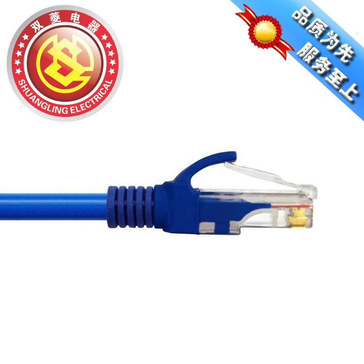 工厂直供 各种规格 五类网络线 超线 3米双绞线
