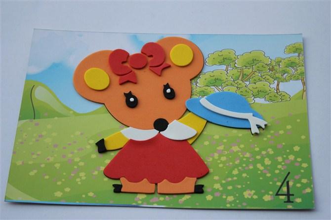 A贴画卡通贴画DIY贴画幼儿贴画益智玩具 阿里巴巴