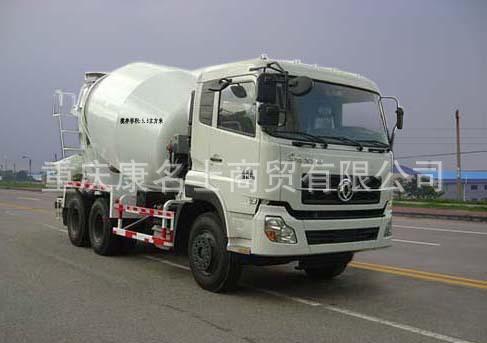 华通HCQ5250GJBTJ3混凝土搅拌运输车ISLe340东风康明斯发动机