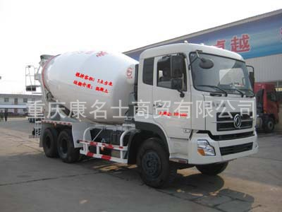 广科YGK5250GJBDF混凝土搅拌运输车L340东风康明斯发动机