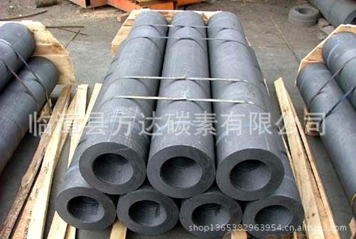 供应规格300mm高功率石墨电极 石墨坩锅 高纯石墨制品 石墨块