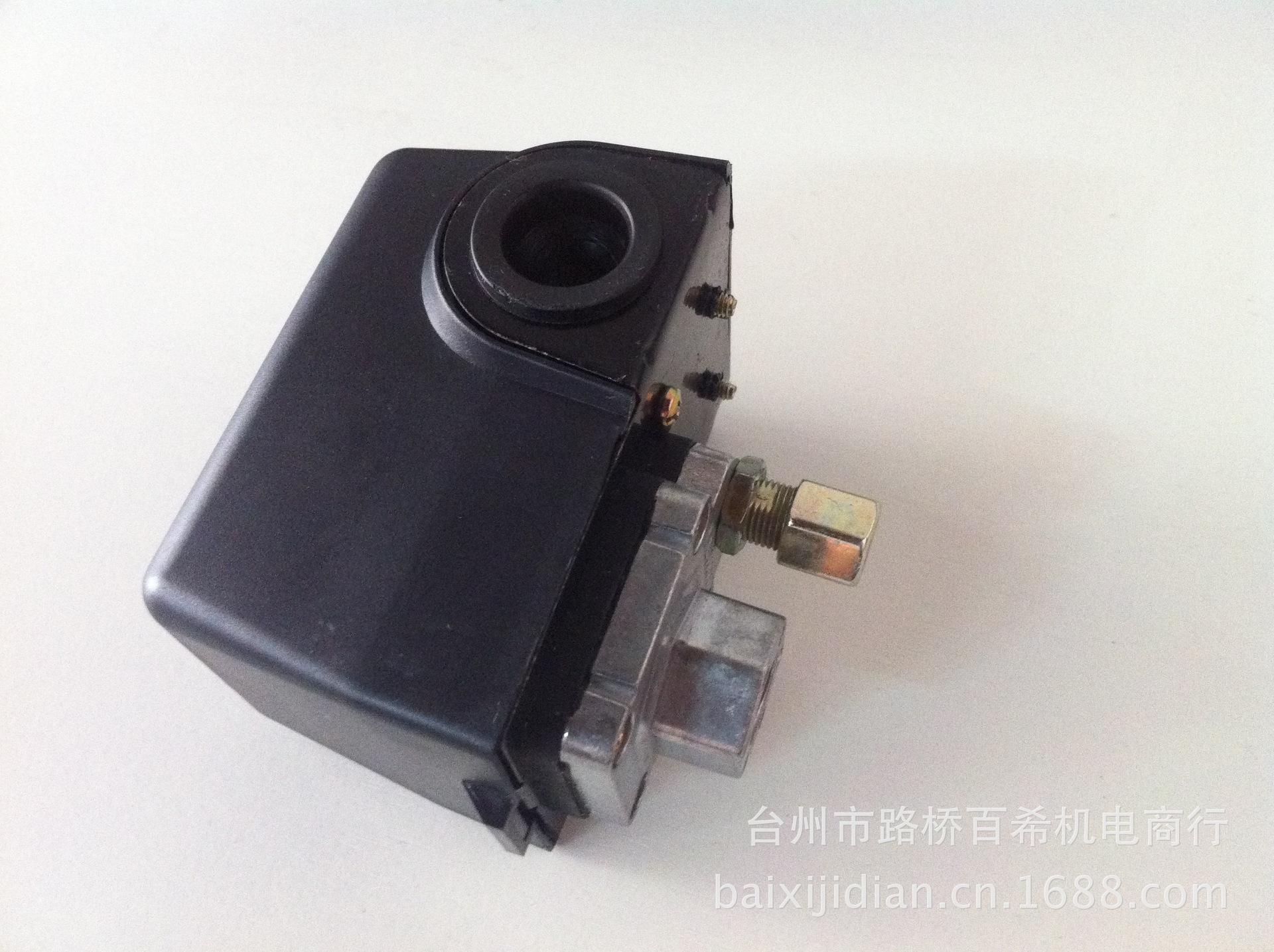 供应空压机压力开关 气泵保护控制开关图片,供应空压机压力开关 气图片