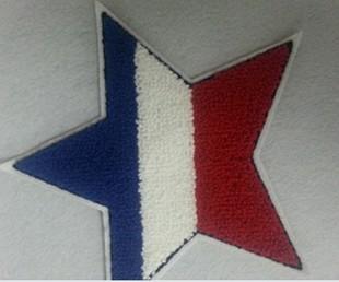 компьютерная вышивка пятиконечная звезда вышитые полотенца