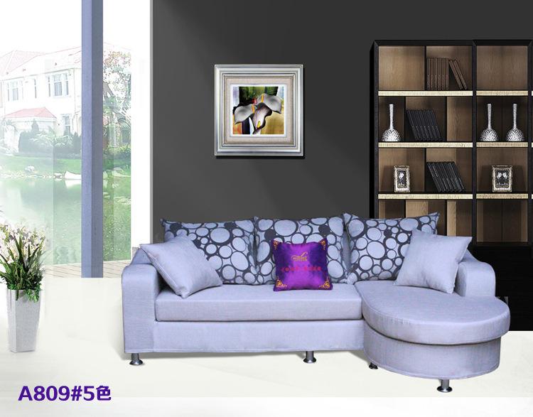 品牌韩式田园布艺沙发 小户型客厅沙发组合 现货 -价格,厂家,图