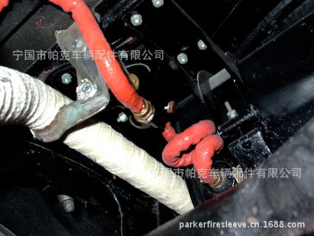 宁国帕克硅胶玻璃纤维高温套管,电缆<strong>防火</strong><strong>护套</strong>,<strong>防火</strong>管