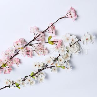 高仿真花樱花 婚庆用品 假花仿真植物 装饰花 厂家直销 批发