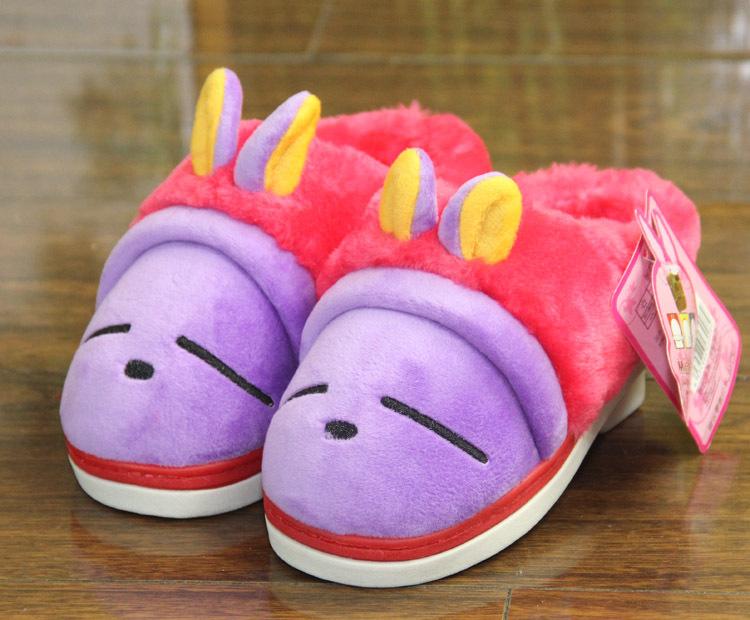 流氓兔 家居棉拖鞋 儿童卡通立体图案兔子 女大童拖鞋 946