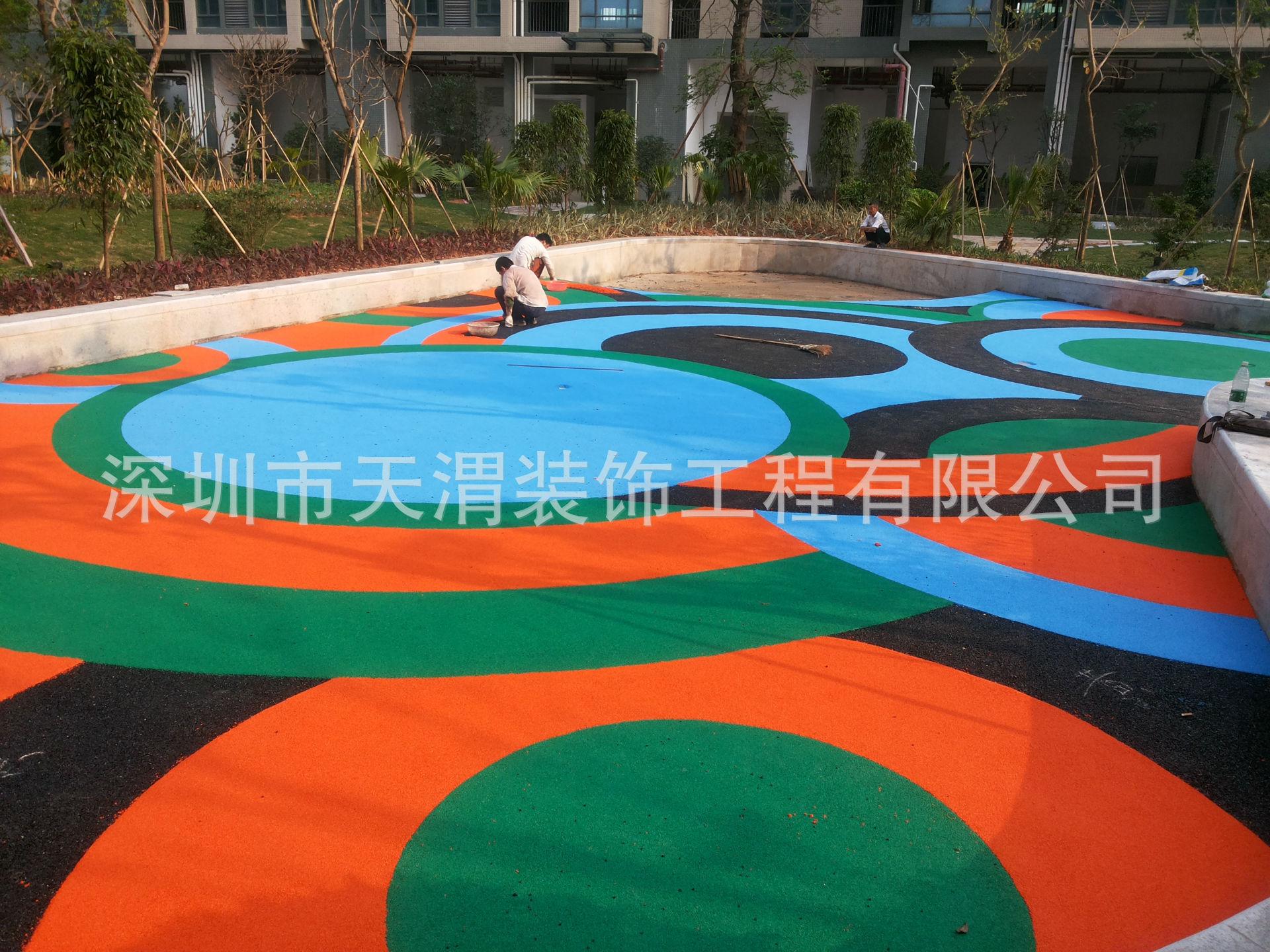 深圳幼儿园游乐场epdm橡胶地面承接pu球场塑胶跑道包工包料包验收