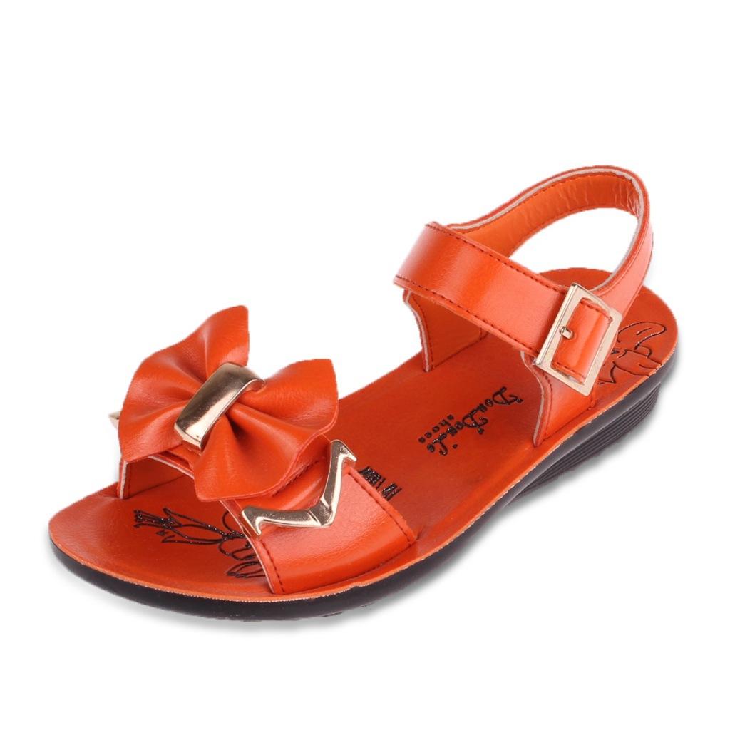 2014新款厂家直销儿童鞋女童防滑凉鞋,沙滩鞋,金属搭扣中小童批发