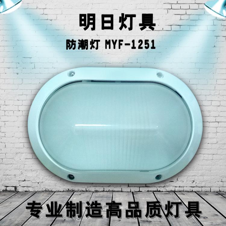 新款 防潮灯 椭圆防潮灯 MYF-1251照明庭院灯 户外灯 品质保证