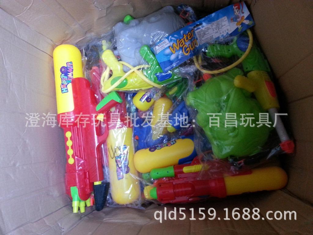 夏天水枪玩具出货实拍