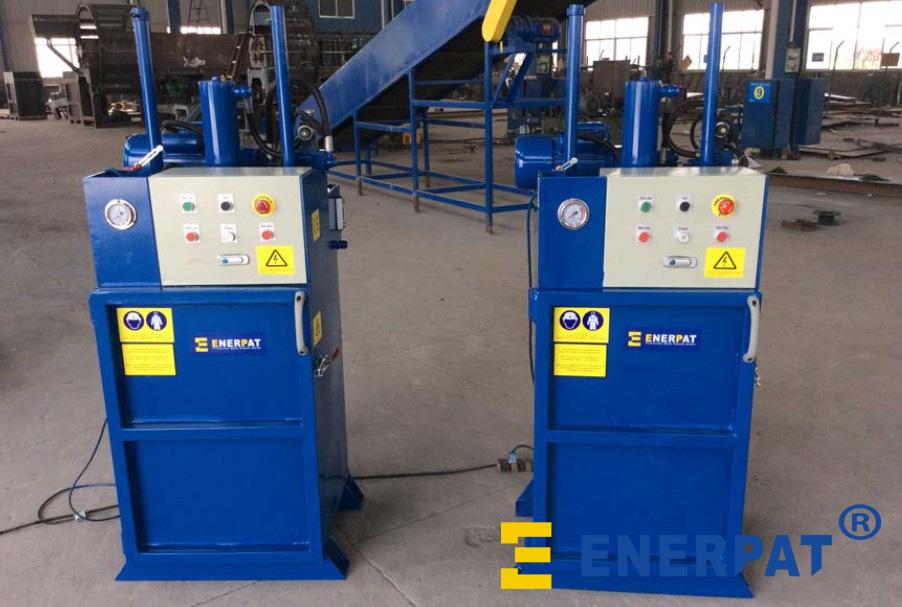 欧盟标准油漆桶压扁机
