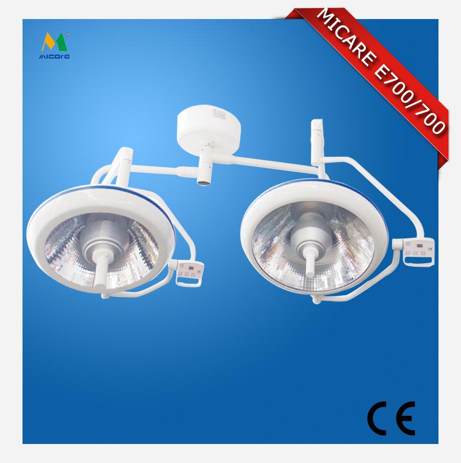 无影灯系列 厂家直销/E700/700整体反射/双头吸顶式无影灯 种植手术无影灯