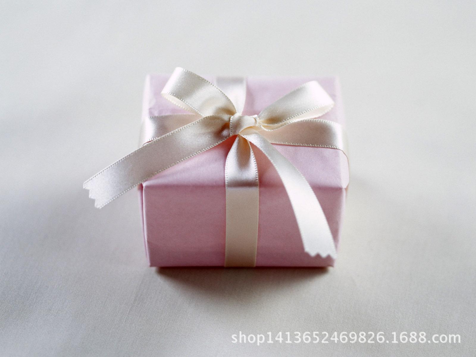 礼盒包装盒小彩盒饰品包装戒指包装盒