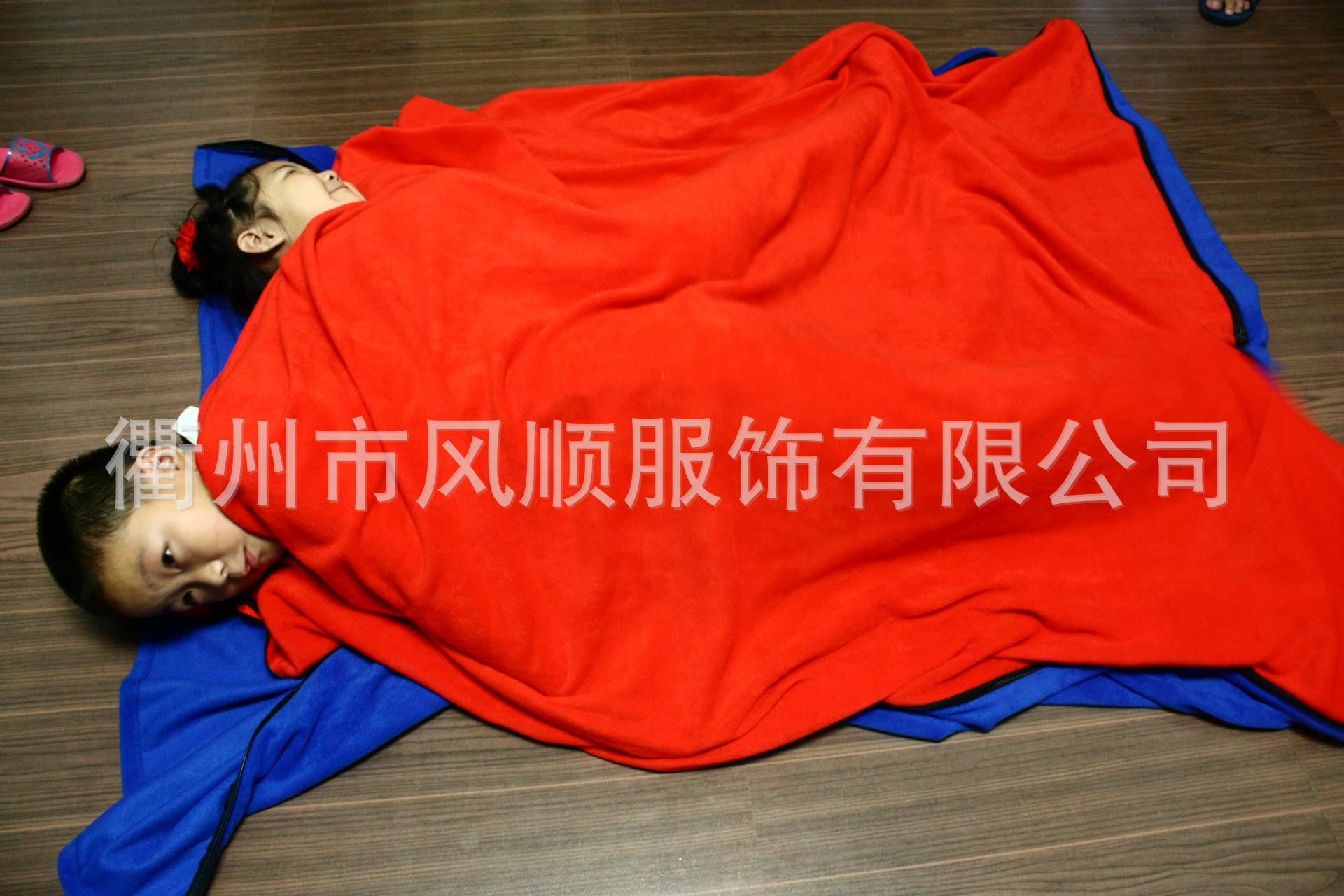 【美觀實用】顏色多種可選抓絨睡袋 春夏秋搖粒絨睡袋 便攜式睡袋