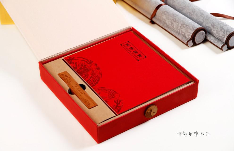 易经智慧高档商务记事本风水文化笔记本册创意中国风本子成