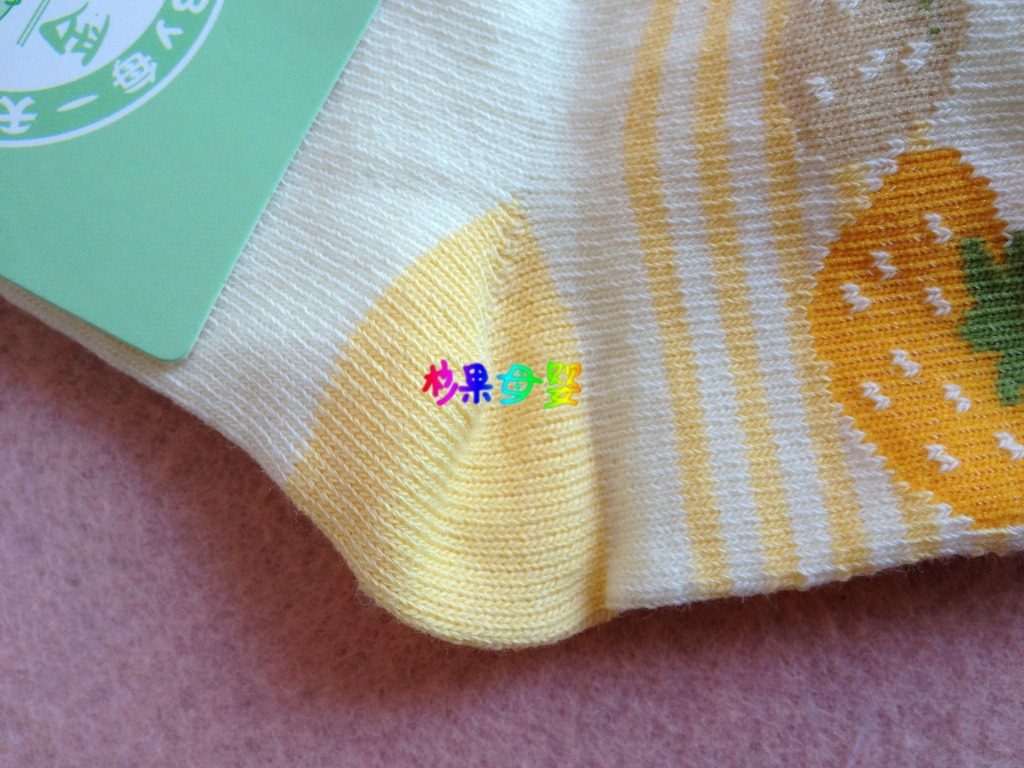 金贝利 男女宝宝袜子卡通全棉无骨缝合 婴儿袜0-1岁春秋