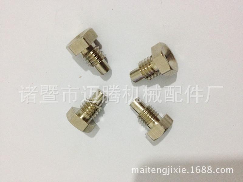 厂家直销温度传感器铜外壳接头配件铜件 欢迎来图来样加工