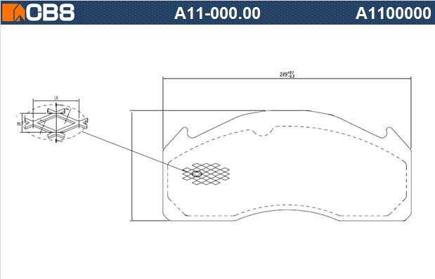供应WVA29131,商用车刹车片钢背,,大巴钢背,,精冲钢背