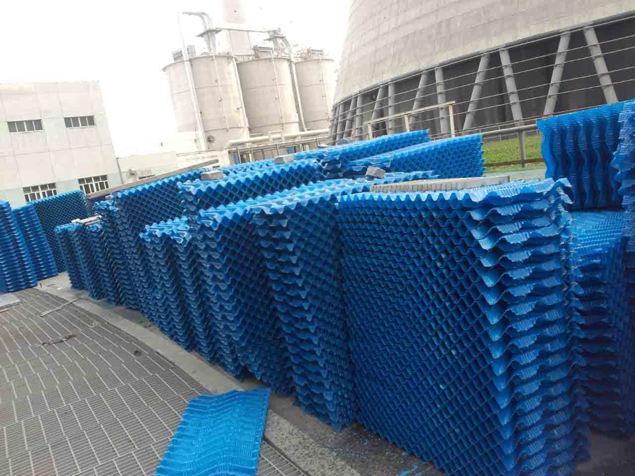 冷却塔填料_鹏程厂家供应冷却塔填料