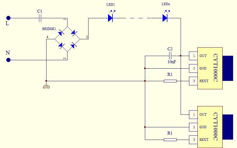 IC并联控制灯串
