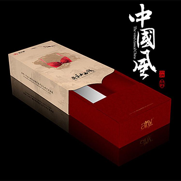 中国风内衣包装盒