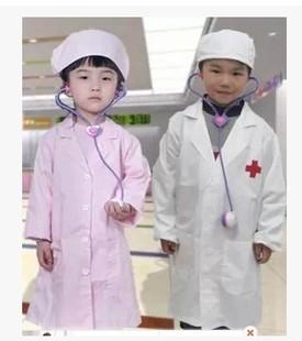 новый доктор одежды маленькая сестра одежду детей малых детей белый халат врача служебной одежды медсестра костюмы оптом