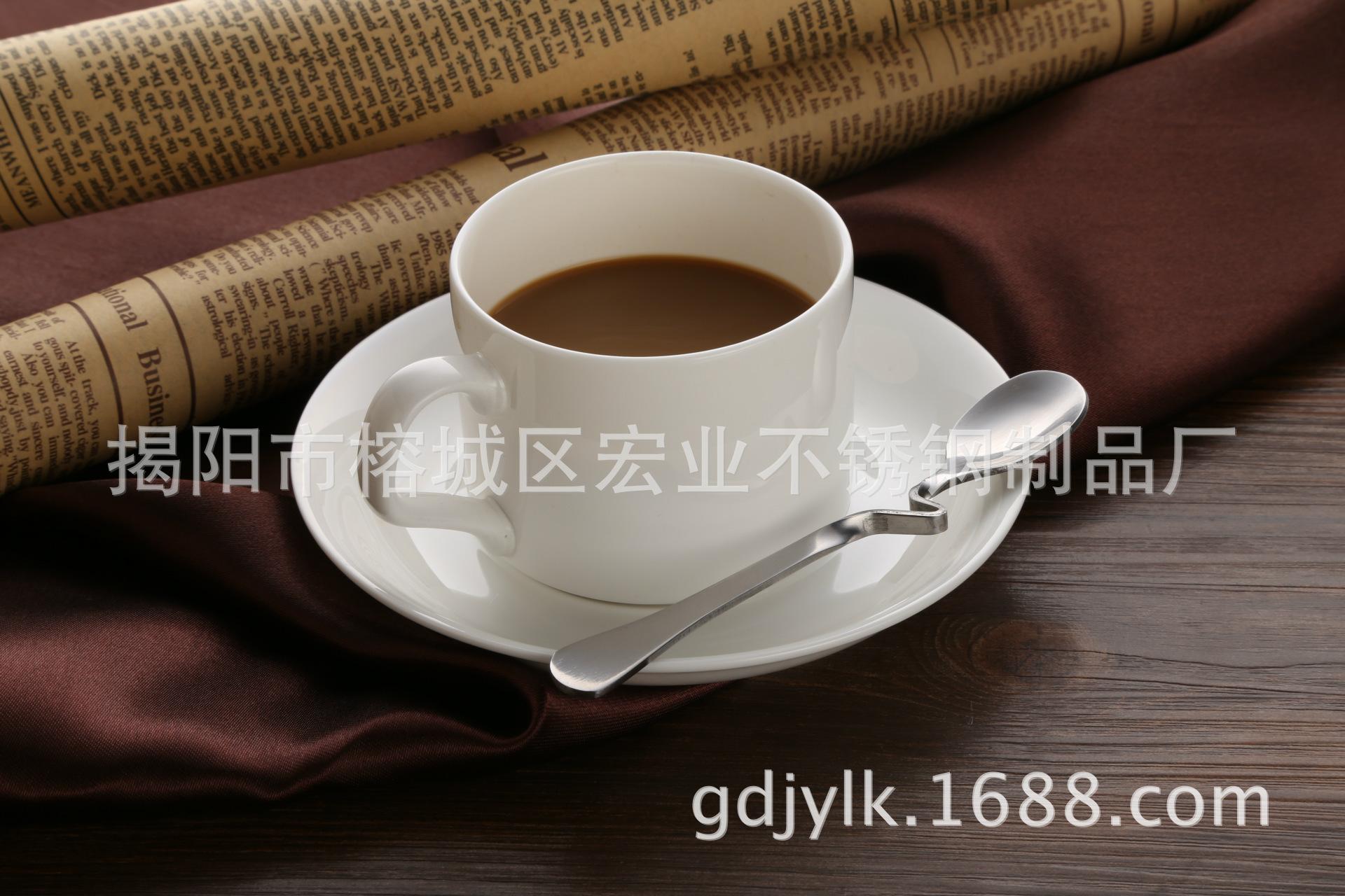 【v型-不锈钢咖啡勺 创意餐具