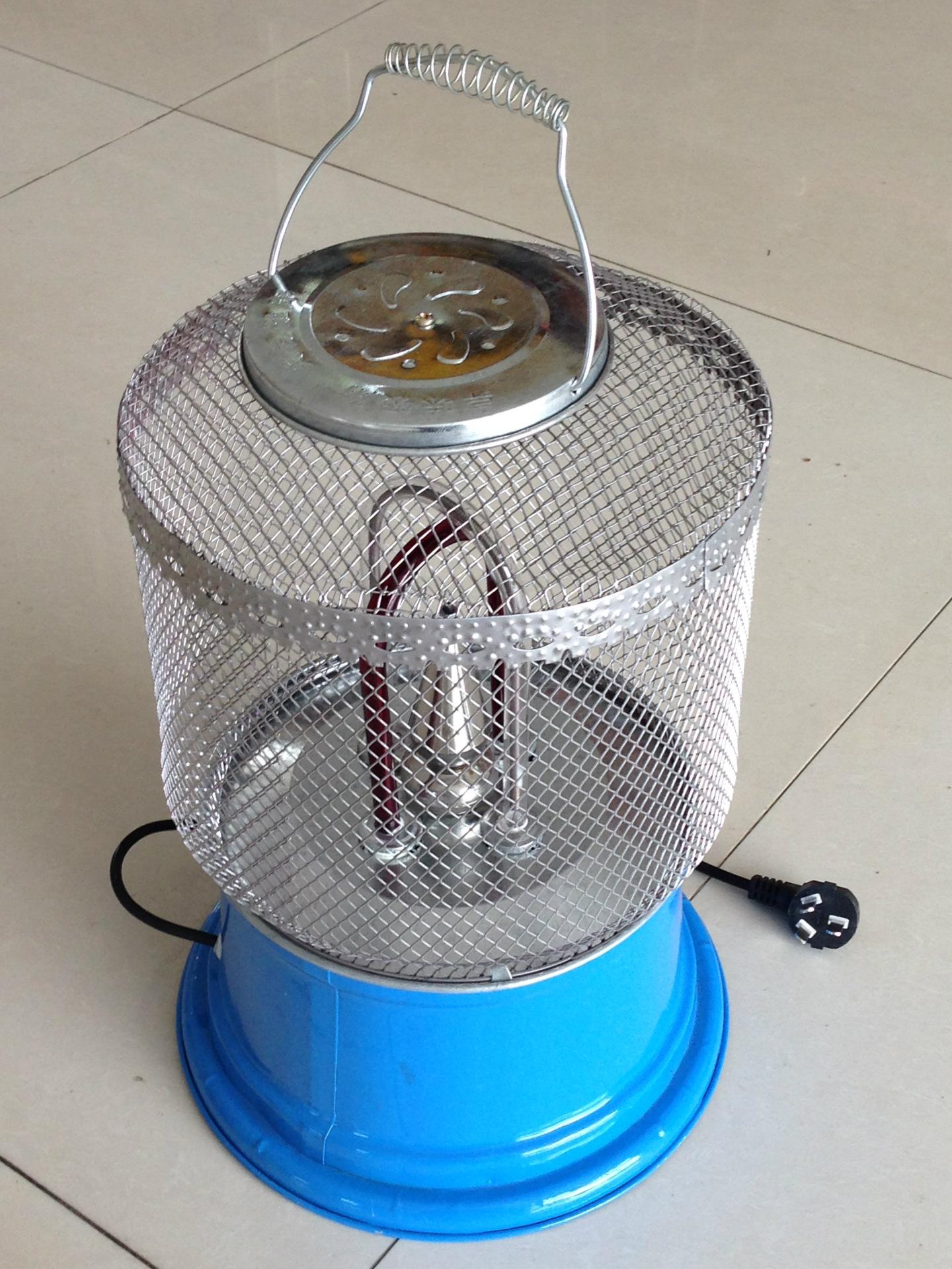 网笼式烤火炉厂家直销取暖器电暖器湖南厂家直销无烟电烤炉