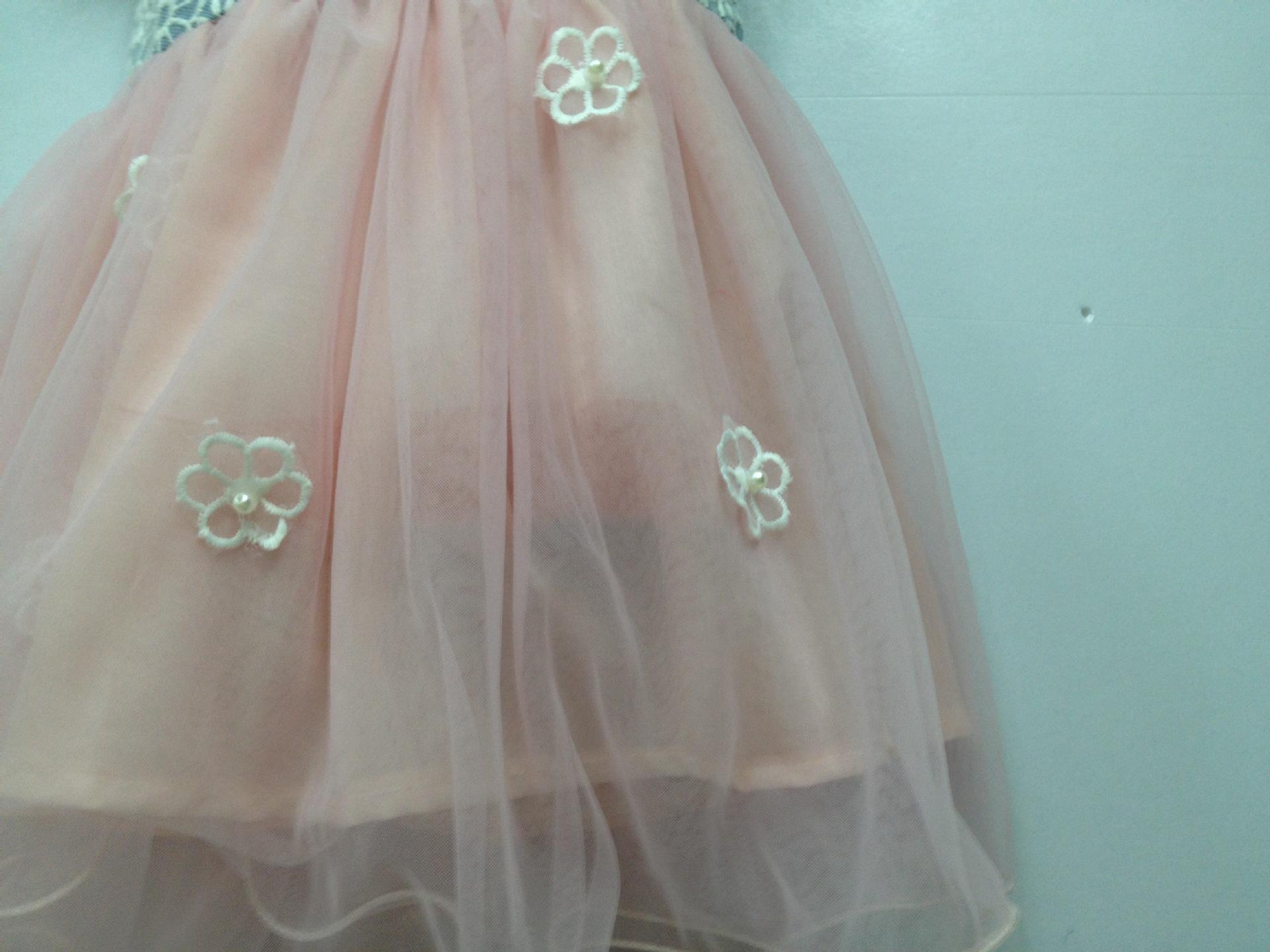 2014六一儿童节跳舞裙牛仔裙
