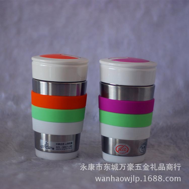 万象保温杯正品 不锈钢车载杯子礼品泡茶水杯 丽人杯 -价格,厂家,图片