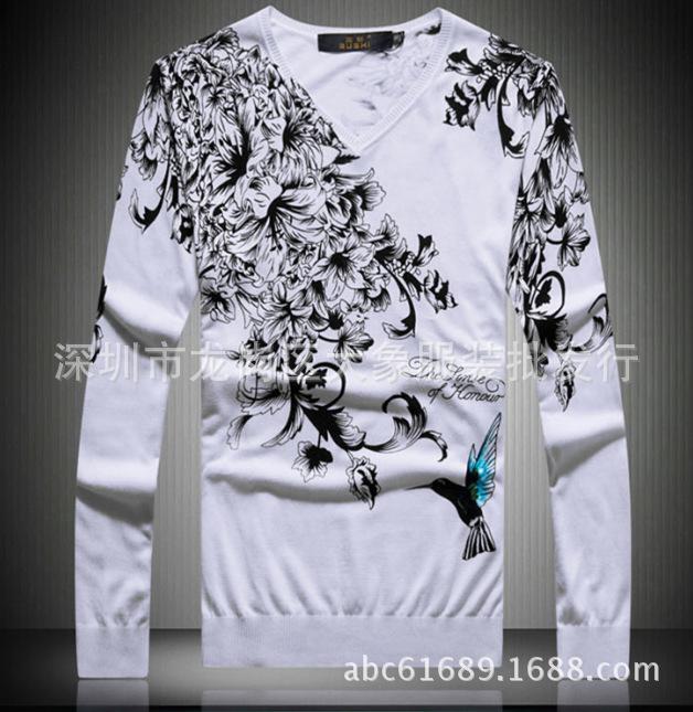 Áo len nam thời trang kiểu Hàn