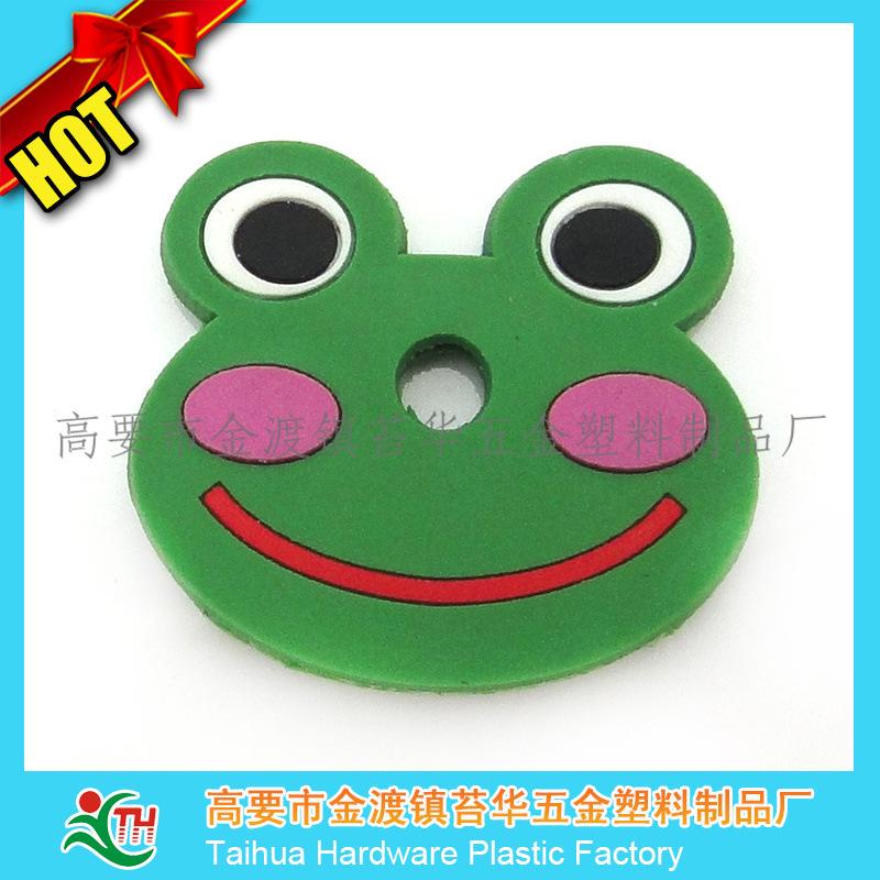 创意青蛙王子头像钥匙扣 可爱小兔子PVC钥匙扣