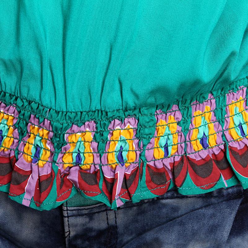 女装 外贸出口服装民族风刺绣女装碎花宽松女式长袖女 阿里巴巴