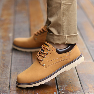 春秋季新款英伦时尚男士皮鞋批发 复古潮流百搭男鞋休闲男鞋单鞋