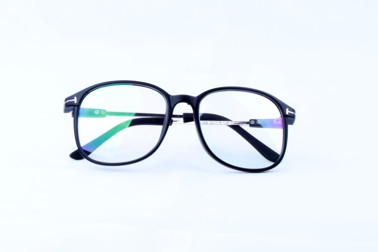韩版潮复古金属眼镜框男女款非主流眼镜架板材平光镜夏季出游2169 -