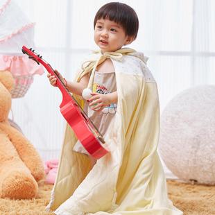 婴儿披风外出防风衣加厚加大披肩斗篷卡通可通6岁以下使用